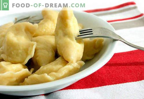 Verbrühte Knödel sind die besten Rezepte. Wie man richtig und lecker gekochte Vanillepuddingknödel zu Hause isst.