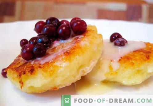 Класически чийзкейк - най-добрите рецепти. Как бързо и вкусно да готвя класически чийзкейк.