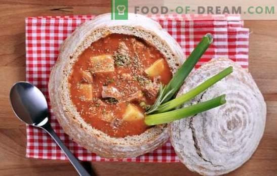 Свински гулаш в бавен печка - сос, супа и основно ястие. Най-добрите рецепти и характеристиките на свинско гулаш в бавен котлон