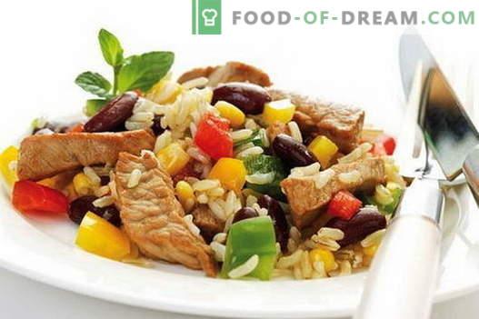 Ориз с месо - най-добрите рецепти. Как правилно и вкусно да се готви ориз с месо.