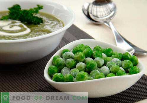 Супа със зелен грах - доказани рецепти. Как правилно и вкусно да се готви супа със зелен грах.
