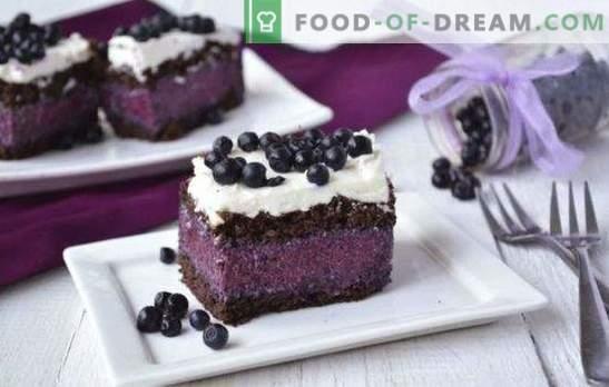 Торта с боровинки е фантастична! Рецепти за различни торти с боровинки: с печене и без, желе, извара, шоколад