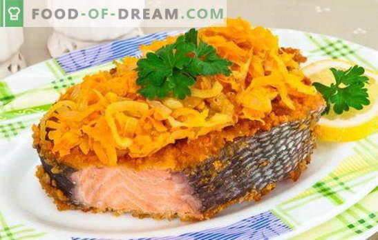 Класика за риби: розова сьомга с моркови. За всички любители на червената риба - най-добрите рецепти на розова сьомга с моркови
