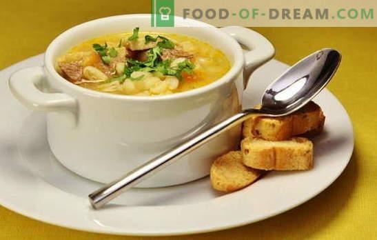 Патешка супа: зеленчукова, с аспержи, ориз, грах, пикантен. Рецепти за вкусни и богати патешки супи, патешка супа