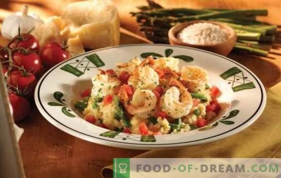 Домашно ризото - вкус на Италия със собствените си ръце. Рецепти, тайни и съвети gourmets: как да се готви ризото у дома