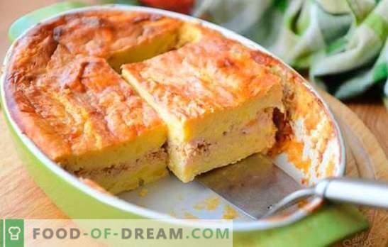 Картофена печка с мляно месо - просто ястие от наличните продукти. Картофен задочник с кайма и зеленчуци