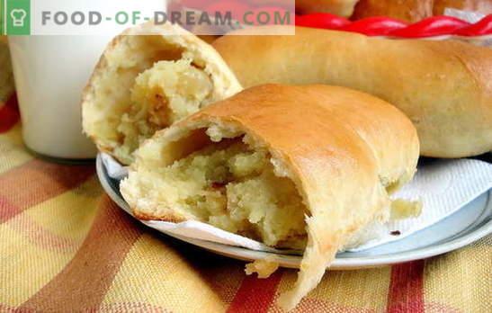 Картофени пайове с мая - като в градове и села! Рецепти за пържени и печени картофки с дрожди
