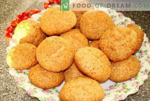 Бисквити от овесени ядки - най-добрите рецепти. Как да се готви бисквитки овесена каша.