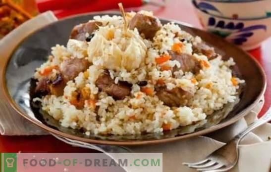 Свински пилаф: Стъпка по стъпка рецепта за централно азиатско ястие. Технология на приготвяне на пилаф със свинско (стъпка по стъпка) в котел