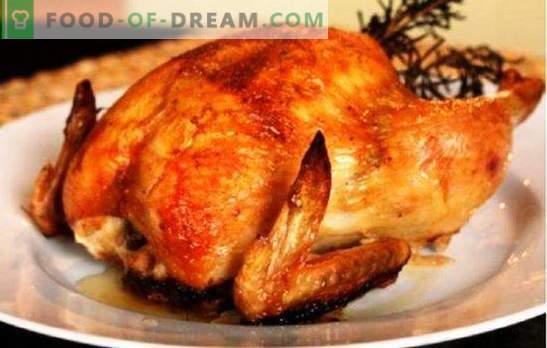 Цялото пиле в мултикукъра няма да изгори, няма да изсъхне! Рецепти за приготвяне на различни пилета в бавен печка като цяло