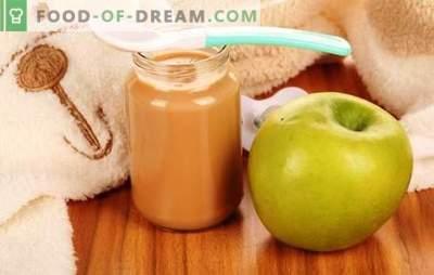 Ябълково пюре за деца: как да го приготвите правилно и вкусно. Рецепти за ябълково пюре за бебета