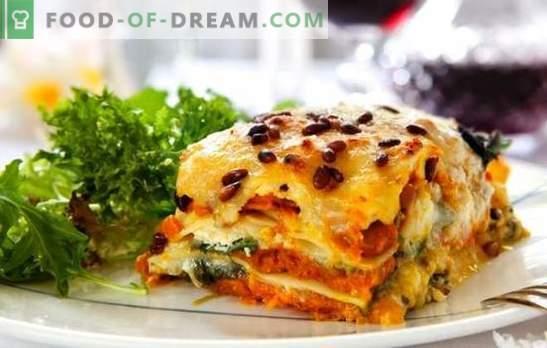 Лазаня със сирене - още едно парче, Сенора! Рецепти за различни лазани със сирене и шунка, гъби, домати, пиле