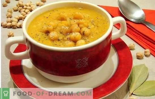 Soupe aux pois chiches - Notes orientales au menu de tous les jours. Anciennes et nouvelles recettes de soupe savoureuse, aromatique et inhabituelle aux pois chiches