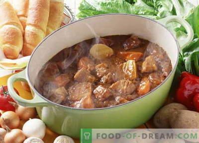 Svinjska obara - najboljši recepti. Kako pravilno in okusno kuhati svinjsko juho.
