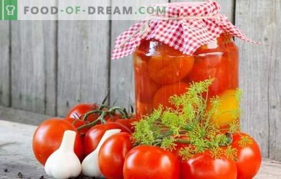 Доматите в банките за зимата - показател за женската икономика! Рецепти домати в банки за зимата