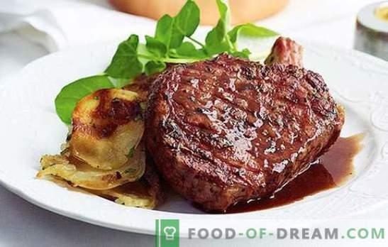 Свинско месо в пещта и тавата: тайните на вкуса. Рецепти за гарнитури и сосове за свинско месо в тиган