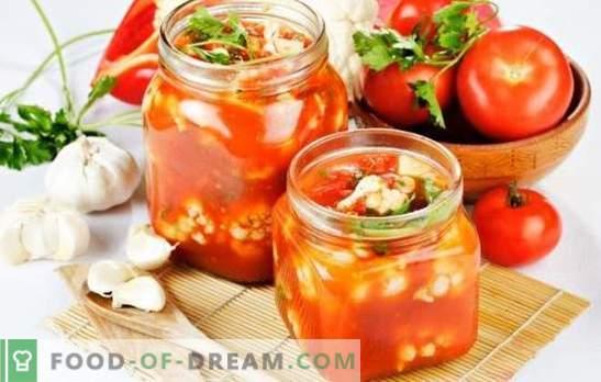 Салата от карфиол за зимата - о, заготовка! Рецепти за вкусни и доказани салати от карфиол за зимата