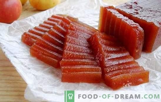 Домашни мармалади од јаболка - докажани рецепти. Јаболко мармалад дома: во микробранова печка или печка