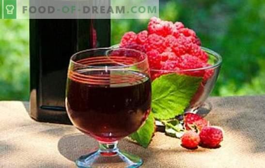 Домашно малиново вино - пикантен аромат! Напълнете килера с малинови вина: най-добрите рецепти