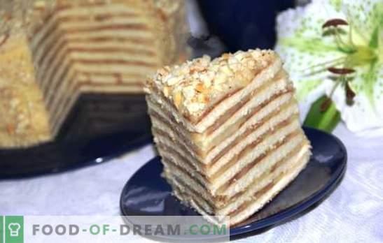Торта в тиган с кондензирано мляко е божи дар! Рецепти за мед, заквасена сметана, шоколад и сладкиши в тиган с кондензирано мляко