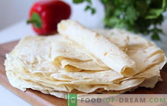 Арменски пита хляб - рецепти на най-добрите ястия. Какво може да се приготви от арменски лаваш? Рецепти за празници и ежедневие: просто вкусни