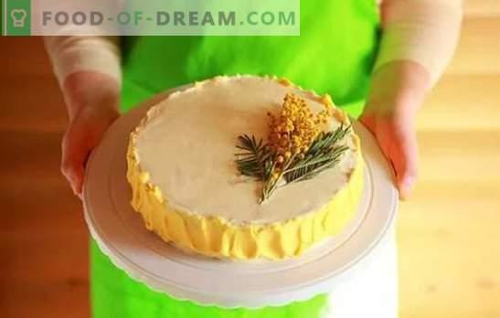 Торта Крем: Стъпка по стъпка рецепти за домашно приготвени десерти. Приготвяне на сладки и въздушни кремове за торти с помощта на поетапни рецепти