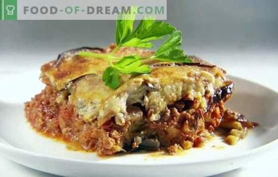 Запеканка с патладжани с домати и мляно месо е вкусна комбинация. Най-добрите гювечи с патладжани с домати и мляно