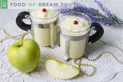 Десерт от ябълков крем - ефирна еуфория на вкуса!