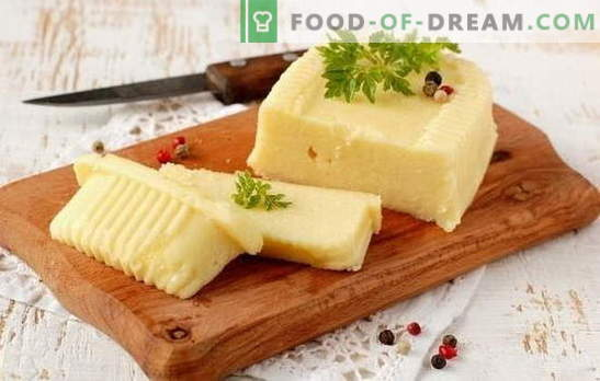 Как да си направим сирене от мляко със собствените си ръце: меко и твърдо. Рецепти за сирене от мляко у дома и технологии