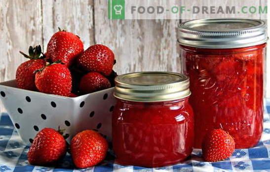 Съхранение на ягоди - запазване на аромата и вкуса. Съхранение на ягоди: рецепти за конфитюр, компот, конфитюр и др.