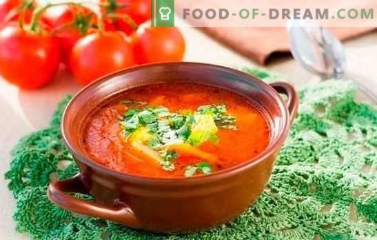 Харчо супа: приготвена по прости рецепти. Тънкости и тайни на готвене супа kharcho: прости рецепти с телешко, агнешко, пиле