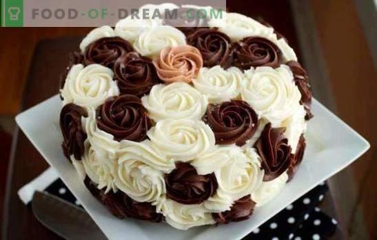 Cake Decorating Cream: parim ja originaalsed retseptid. Kuidas teha igat tüüpi kook kaunistav kreem: samm-sammult juhised