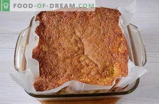 Лимонов пай: стъпка по стъпка фото рецепта. Ароматен печене на минималния им набор от продукти - домашен лимонов пай