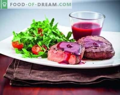 Omaka iz brusnic - najboljši recepti. Kako pravilno in okusno kuhati brusnično omako.