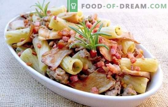 Паста със свинско в цялата си слава! Рецепти за печени и пържени тестени изделия и макаронени изделия със свинско месо