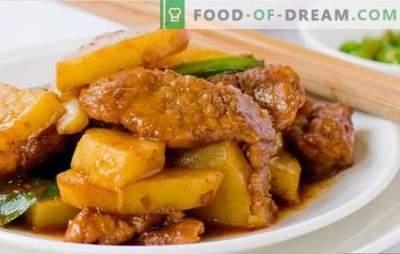 Свинско месо со компири во фолија во рерната - познати и нови рецепти. Како вкусно да се пече свинско месо со компири во фолија во рерната