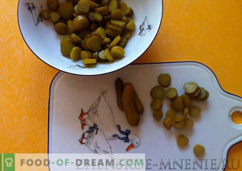 Салата от ананас - рецепта със снимки и описание стъпка по стъпка