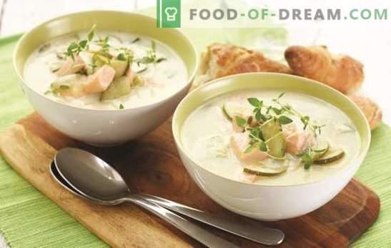 Супа от сьомга - вкусен чар! Финландски рецепти за рибена супа - тайни на здравето и успеха на древните викинги