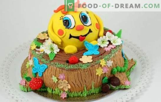 Направи си сам детска торта - за най-обичаните любими! Рецепти за прости и красиви детски ръчно изработени торти