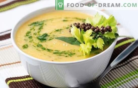 Супа от карфиол със сметана, сирене, картофи, моркови. Опитайте всички супи от карфиол и сметана!