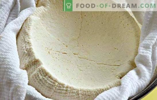 Thuis kwark kwark bereiden van yoghurt: het is - eenvoudig. Huisgemaakte kwark uit yoghurt - lekker en gezond