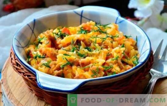 Бигус от прясно зеле - рецепти, тънкости, готварски тайни. Готвене на Bigus от прясно зеле с месо, колбаси или колбаси