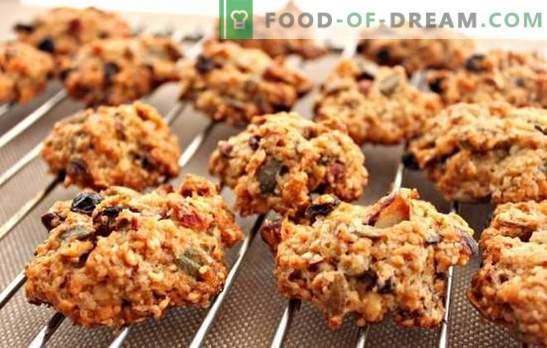 Бисквити от овесени ядки без печене - фурната не е необходима! Готвене на здравословни и вкусни овесени бисквити без печене в домашни условия