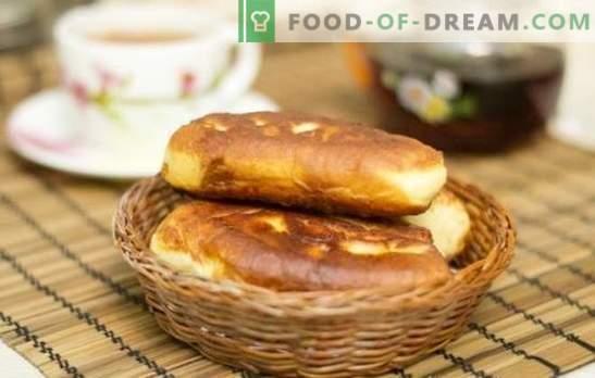 Панирани пайове - един и същ вкус, същият вкус! Рецепти на пържени пайове с конфитюр от различно тесто