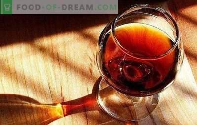 Domowy koniak ze śliwek to elitarny napój. Warianty domowej roboty brandy ze śliwek z przyprawami, miodem, kory dębu