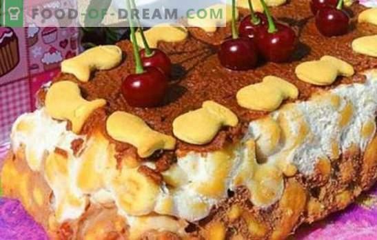 Торта от бисквити