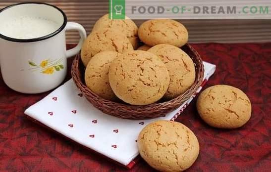 Овесени бисквити без люспи - най-вкусните рецепти. Полезни и вкусни сладкиши: овесени бисквити без зърнени култури