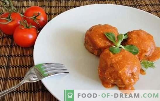 Кюфтета с ориз (стъпка по стъпка) - атрактивни топки в сос. Готвене на вкусни кюфтета от месо и риба с ориз