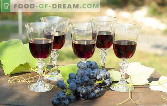 Домашно пълнене на грозде - естествено! Рецепти ликьор от грозде у дома: с водка, захар или алкохол