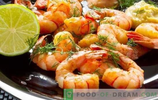 Скариди с чесън - страхотен дует на вкус! Най-добрите рецепти за приготвяне на скариди с чесън.